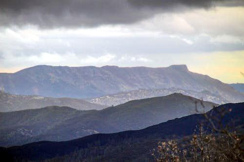 Cortina Ridge and Glascock Mtn. (right)