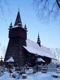 Wooden church in Orawka