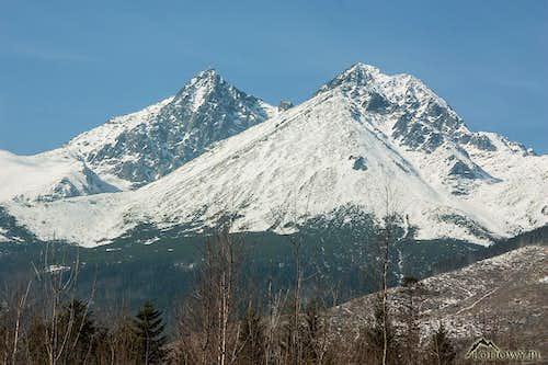 Lomnica and Kezmarsky peaks