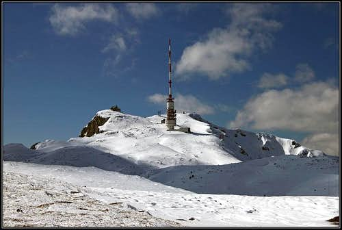 The summit of Dobrac