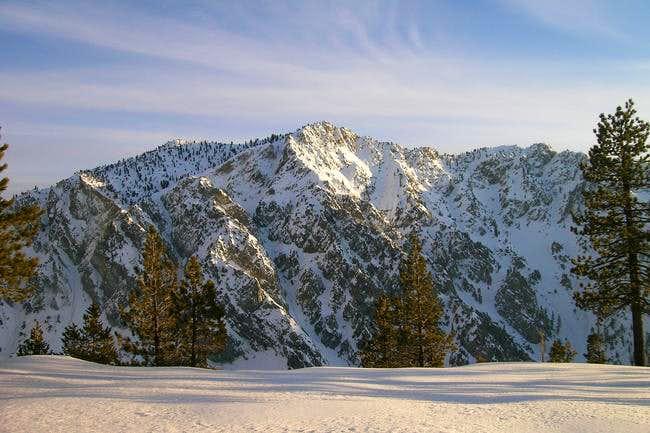 Galena Peak from High Creek...
