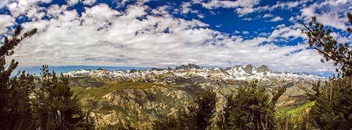 Ritter Range from San Joaquin Ridge