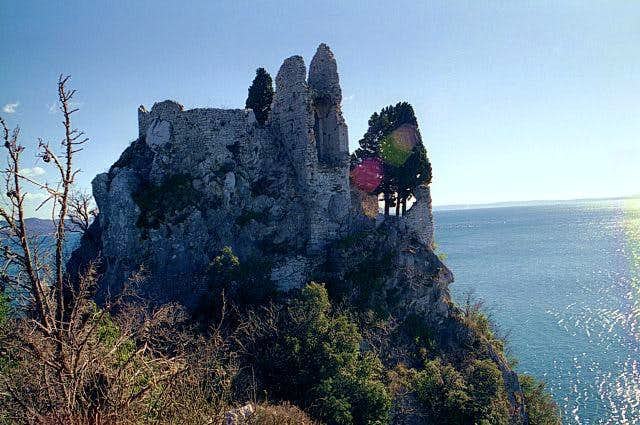 The old castle of Devin.