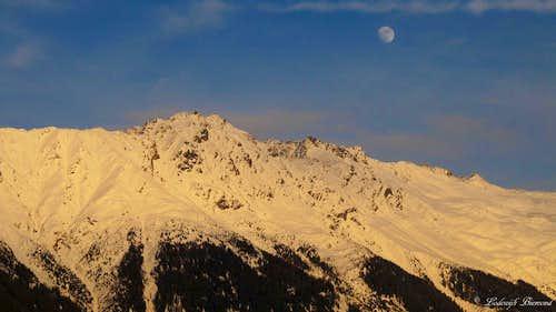 Moon & Olgrubenkopf (2879m, S-SW Face)