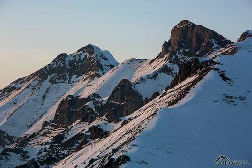 Havran and Zdiarska Vidla peaks
