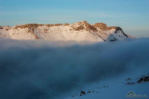 Prostredne Jatky ridge
