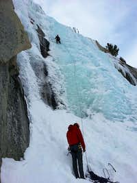 Lee Vining Canyon Ice Climbing