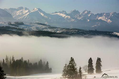 High Tatras from Lapszanka