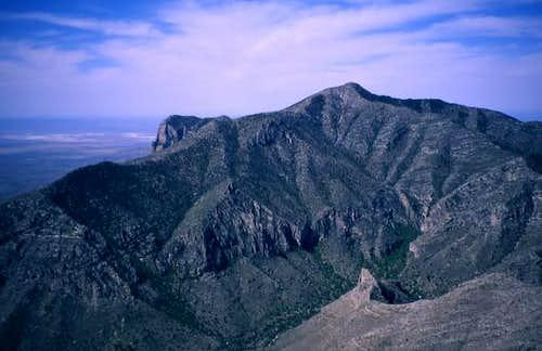 Texas 2,000 ft. Prominence Peaks