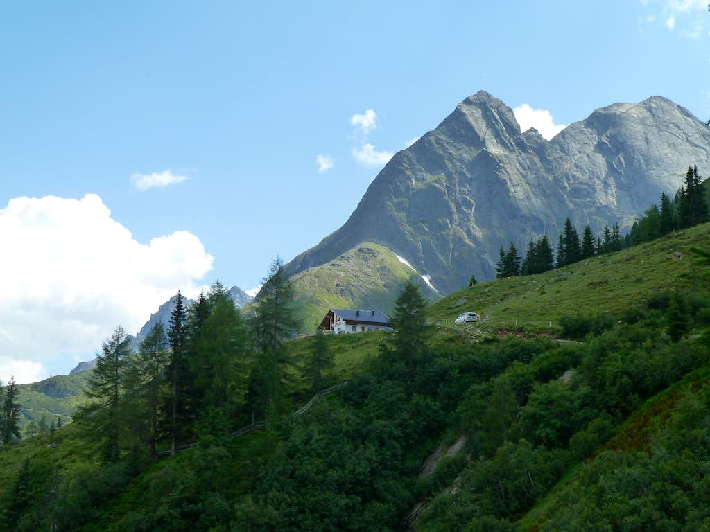 Breitlehnalm and both Hahlkogels