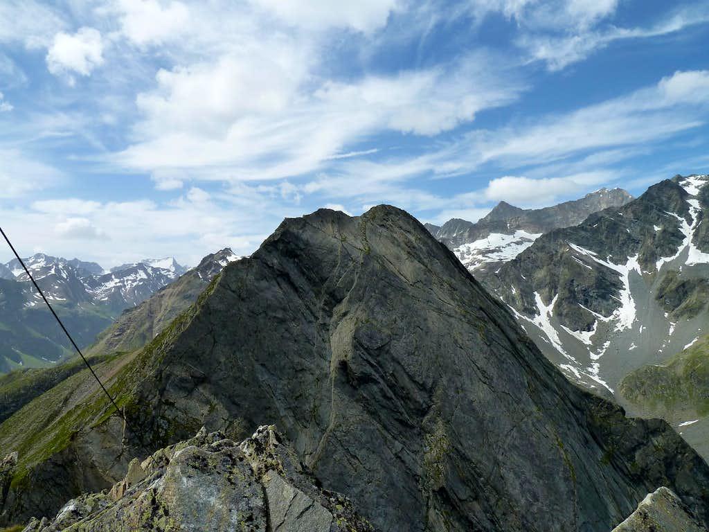View of the Innerer Hahlkogel