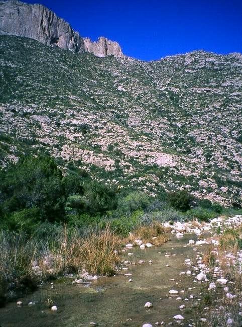 McKittrick Canyon - April 2001