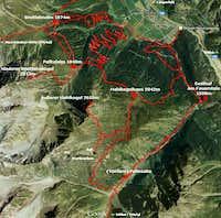 Ötztaler Hochalmen area