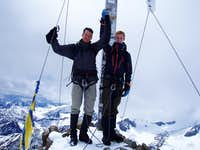 On top of the Wildspitze 3770m