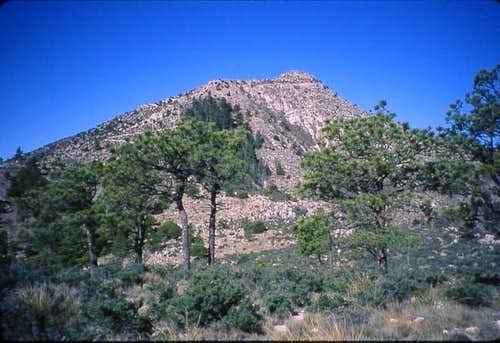 Guadalupe Peak from Guadalupe...