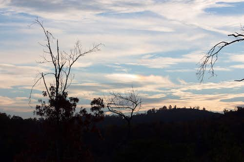 Another sundog in the Smoky Mountains