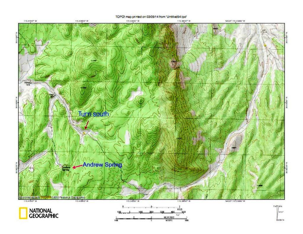 Blue Eagle Map 2