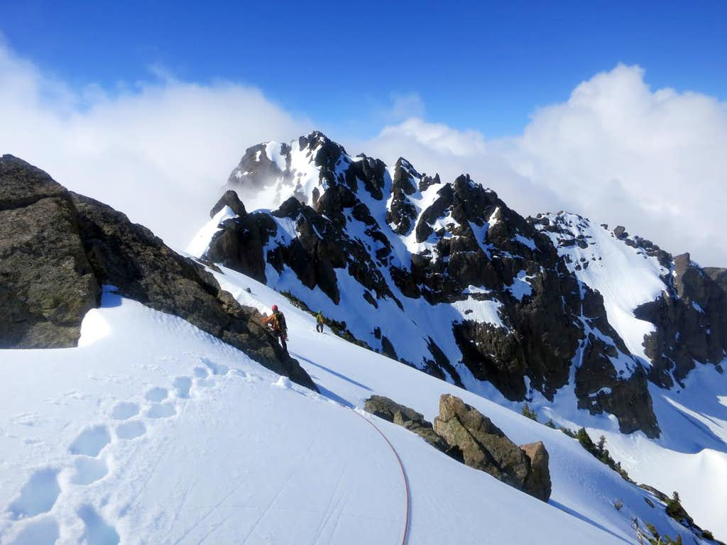 The Brothers Traverse and the South Summit