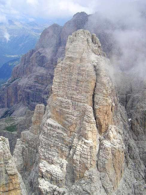 The Campanile Alto from Cima...