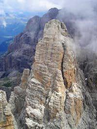 The Campanile Alto from Cima...