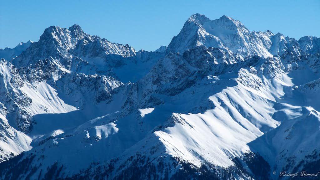 Verpeilspitze (3427m) & Watzespitze (3537m)