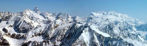 Cervino and Monte Rosa from...