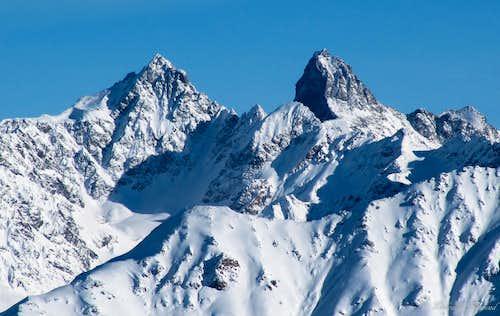 Gsallkopf (3277m) and Rofelewand (3354m)