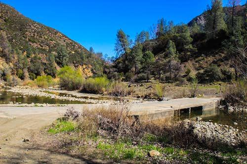 Bridge across Cache Creek