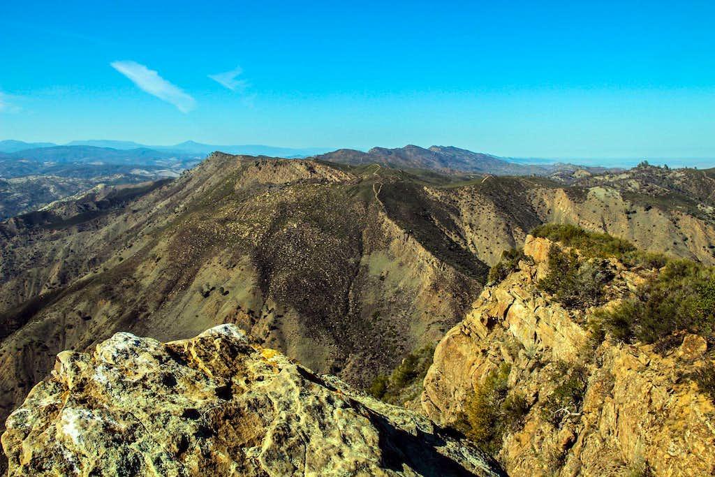 North to Cortina Ridge