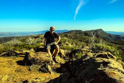 Fiske Peak summit