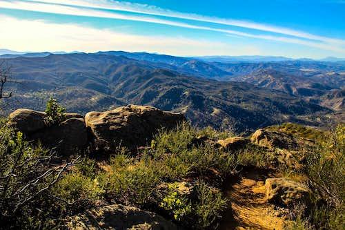 Northwest from the Blue Ridge