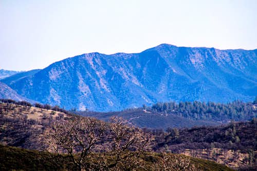 Fiske Peak from the northwest