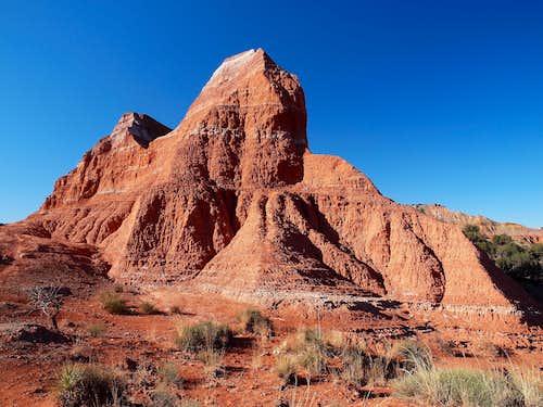 North ridge of Capitol