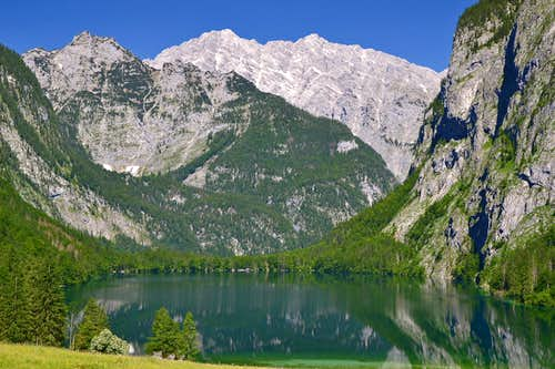 Obersee and Watzmann East face
