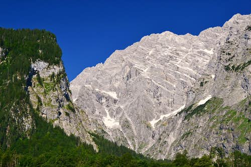 The largest rock face in the Eastern Alps