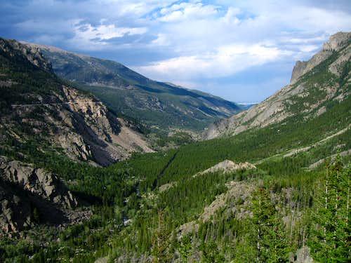 West Rosebud Canyon