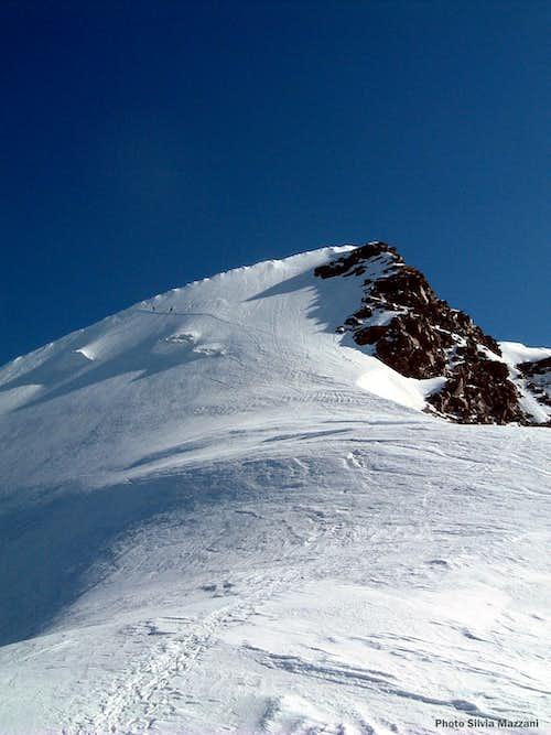 Western Lyskamm, the ice-slope