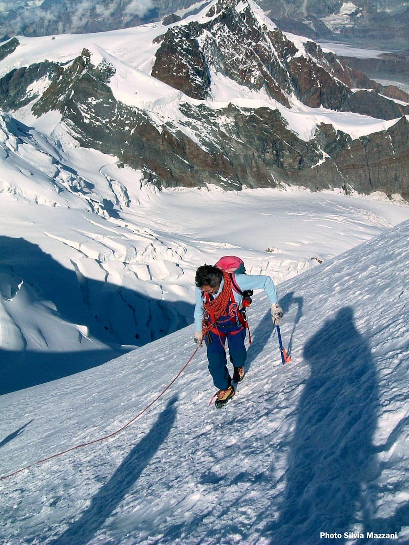 Western Lyskamm, near the summit