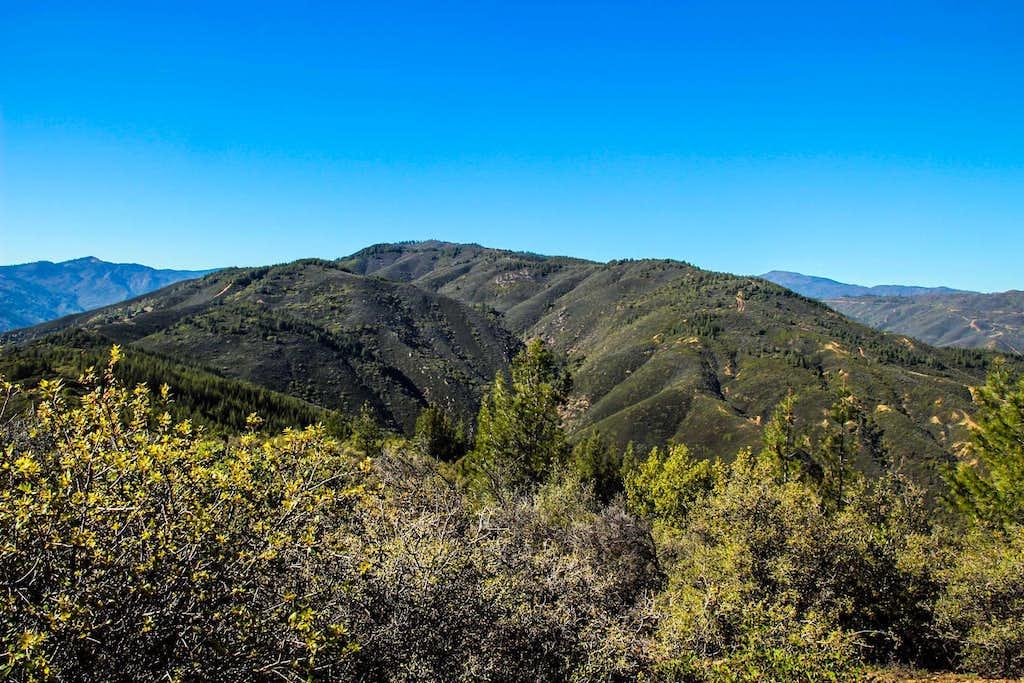 Northwest from Wolf Creek Ridge
