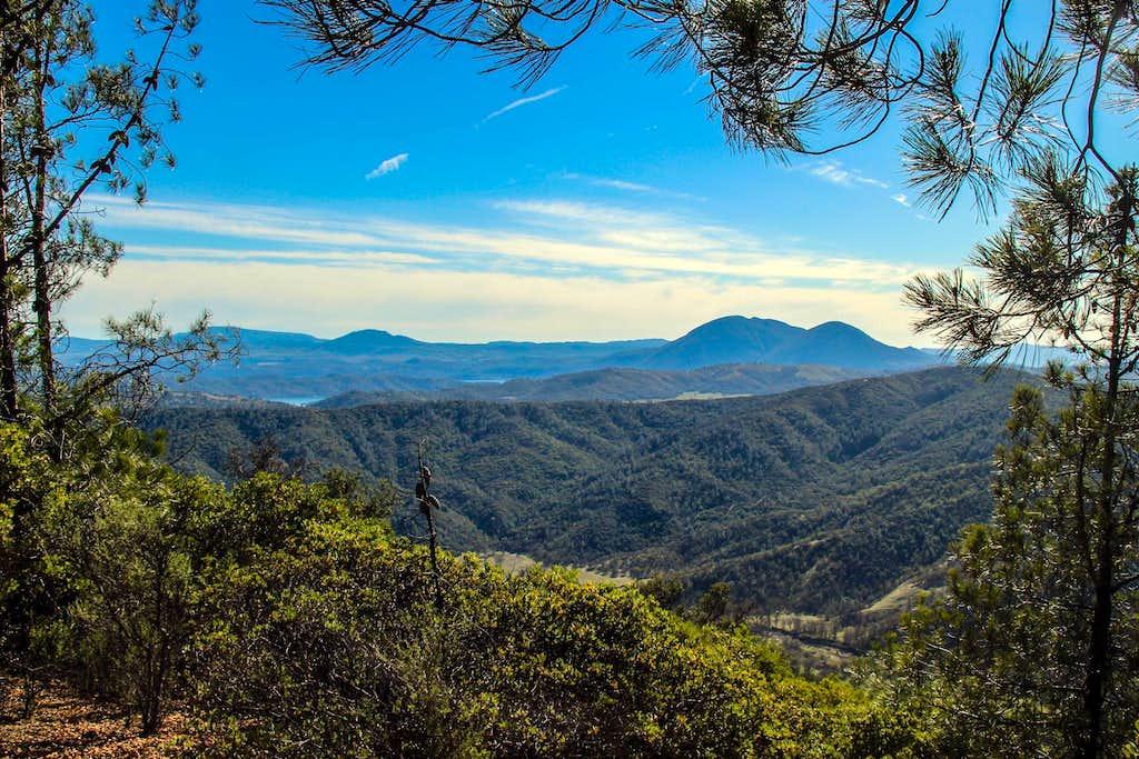 South from Wolf Creek Ridge