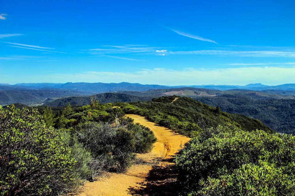 Wolf Creek Ridge looking southeast
