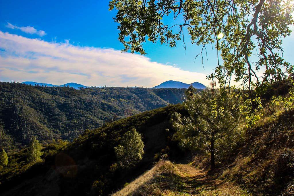 Descending Wolf Ridge