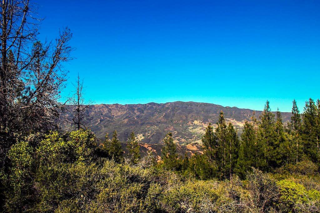 Rocky Ridge from Wolf Creek Ridge