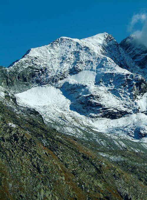 Eaux Rouges Glacier