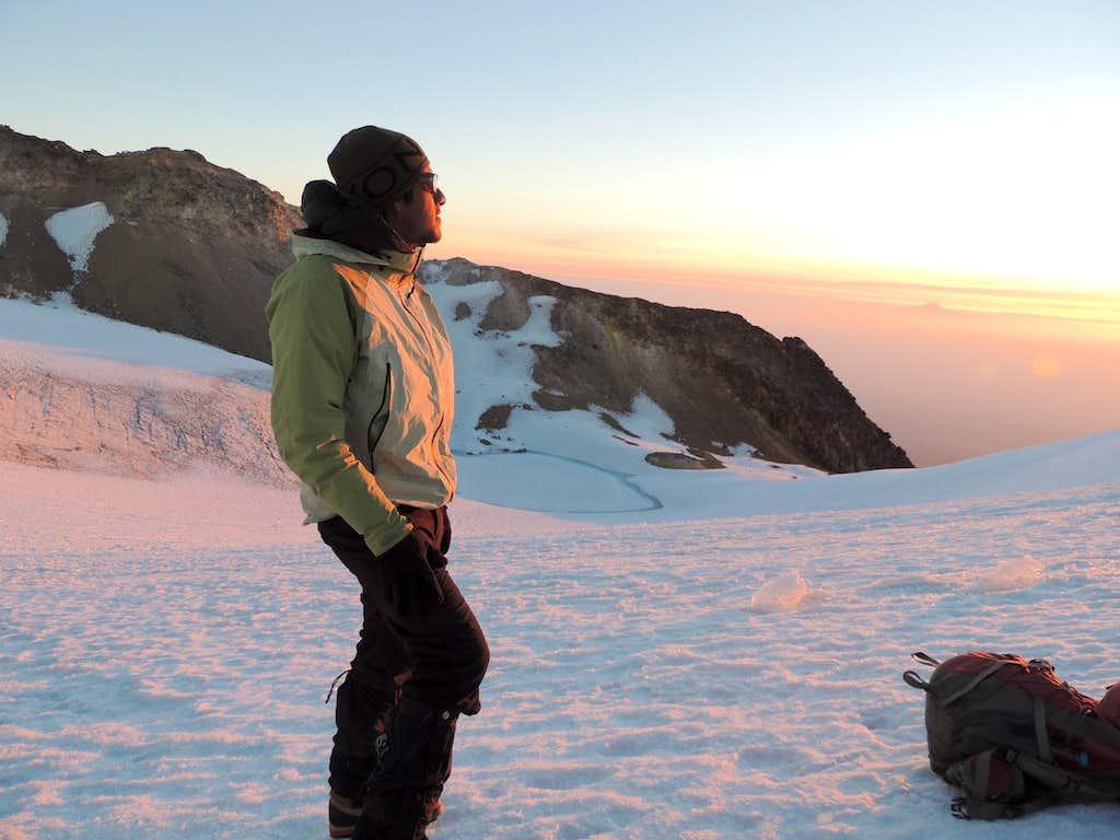 On the Ayoloco Glacier