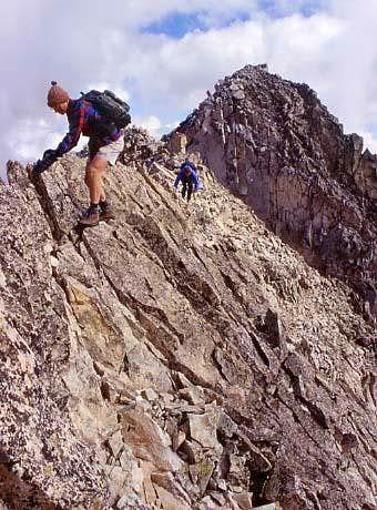 Northeast Ridge aka The Knife Ridge