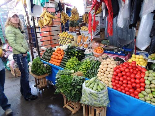 The Market in Amecameca