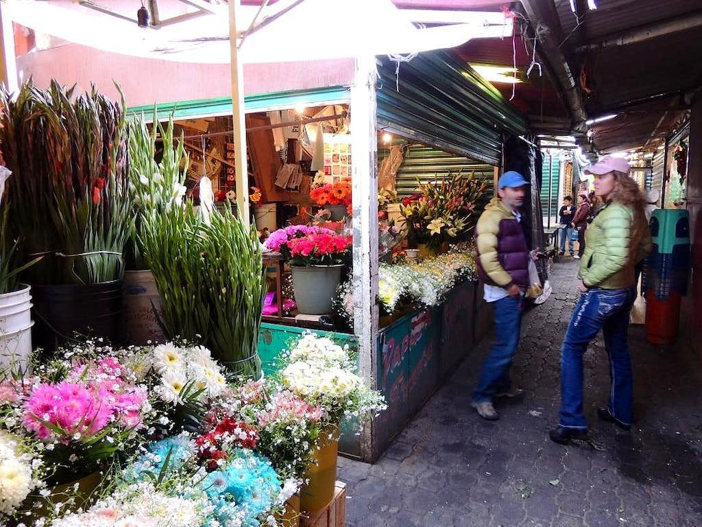 Wandering the market