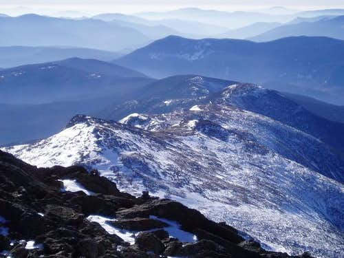 Mt. Monroe from summit of Mt....
