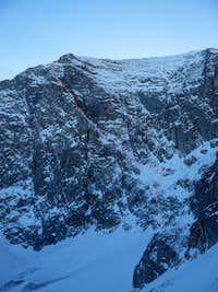 Vihren peak - The Funnel